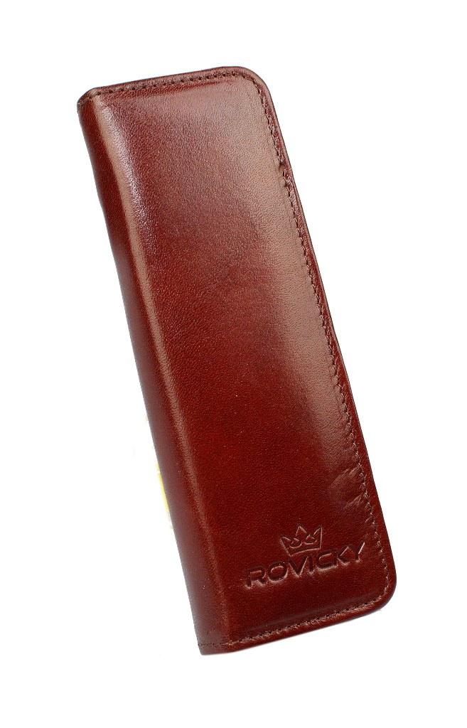 2f574cb46db68 Eleganckie Etui na długopisy ROVICKY (PL) Skóra Naturalna Licowa WZÓR 3  ED 2 ED 2