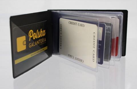 662e7e010b36c Eleganckie Etui Na Karty Dokumenty Dowód Osobisty Polska Galanteria (PL) Małe  Poziome Business Cards
