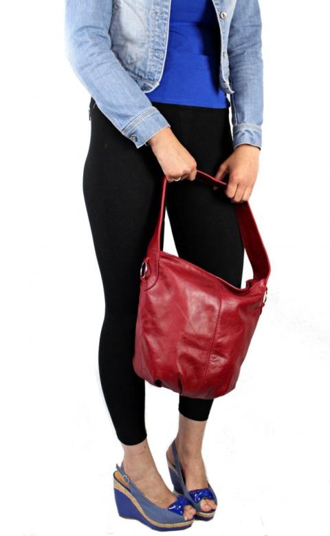 a60918e7bdbd0 Torebka Skórzana MAGRE (PL) Shopper Bag ARLETA Skóra Naturalna TOFFI